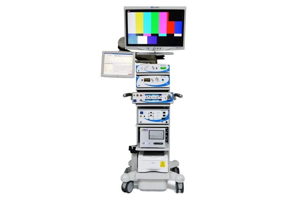 torre vídeo-cirurgia conmed