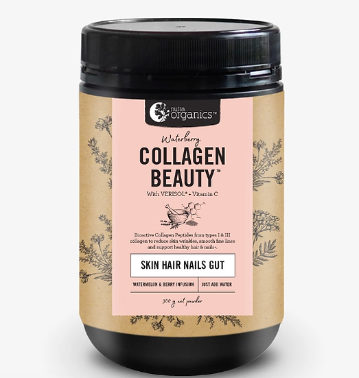 Nutra Organics ~ Collagen Beauty Waterberry 300g