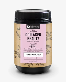 Nutra Organics ~ Collagen Beauty Wildflower 300g