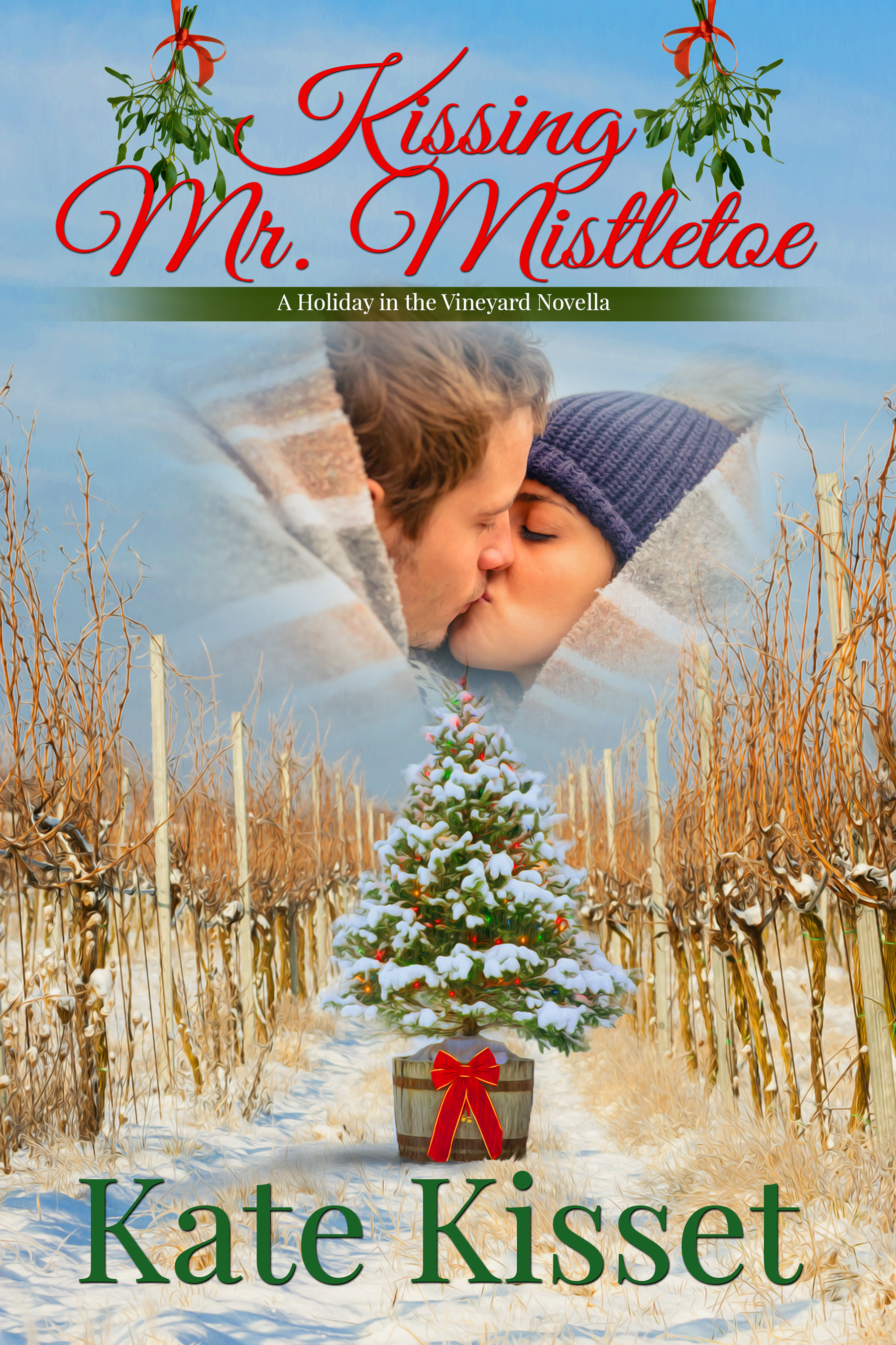 Kate Kisset, Kissing Mr. Mistletoe,