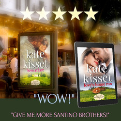Kate Kisset, love in the vineyards, give me more Santino brothers