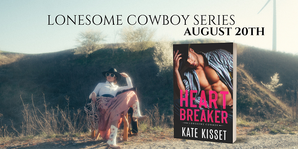 One Month until Heartbreaker! Click here to pre-order for 99cents!