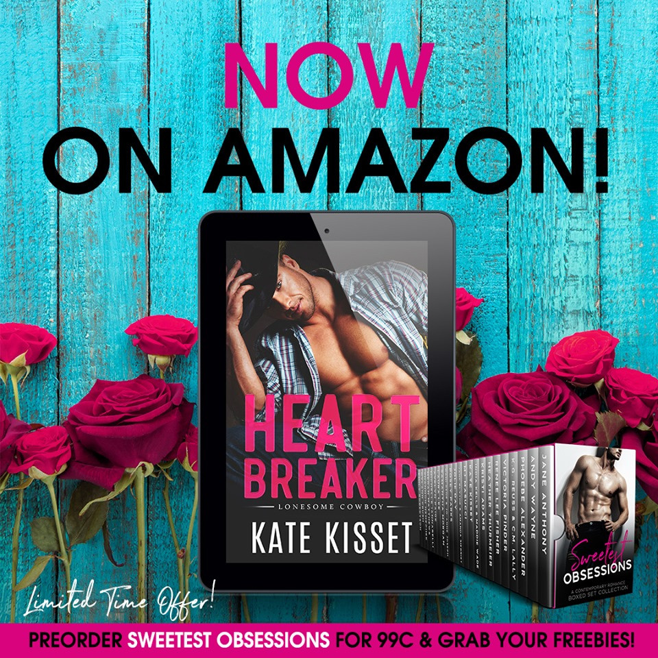 Click the photo to pre-order HEARTBREAKER now for only 99 cents!