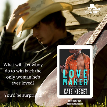 Love Maker Kate Kisset - Lonesome Cowboy