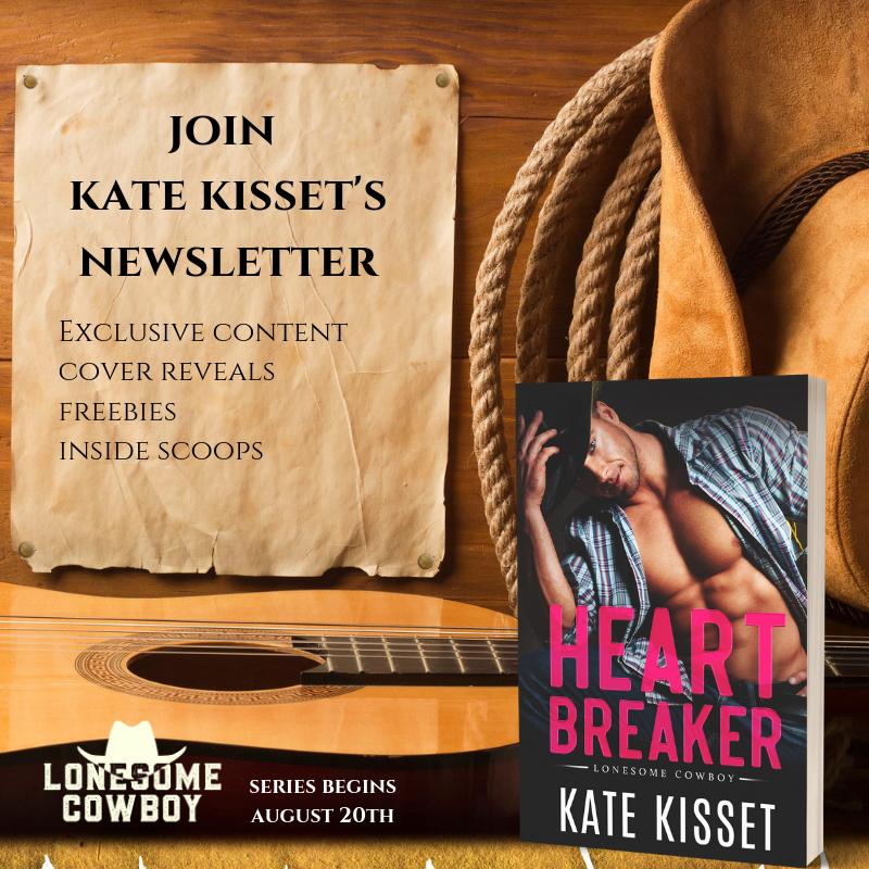 Join Kate Kisset's Newsletter!