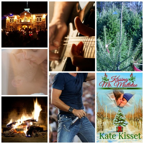 Kate Kisset, a perfect Christmas Romance, Kissing Mr. Mistletoe