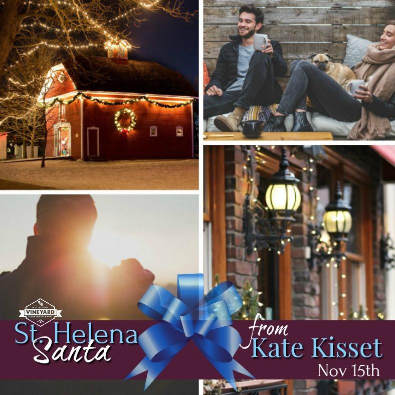Kate Kisset, Kate Kisset books, St. Helena Santa, excerpt, Mr. July