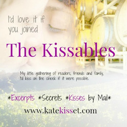 Kate Kisset, contemporary romance books, newsletter sign up, the Kissables