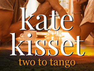 Two to Tango ~a dance of a life time. The romantic comedy set in wine country is in  stores today.
