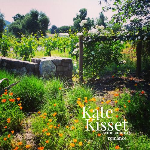"Kate Kisset-story scene-""Lulu's garden"" Love in the Vineyards series"