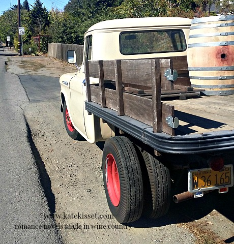 Kate Kisset, wine country romance novels, wine barrel, sonoma valley california, wine country