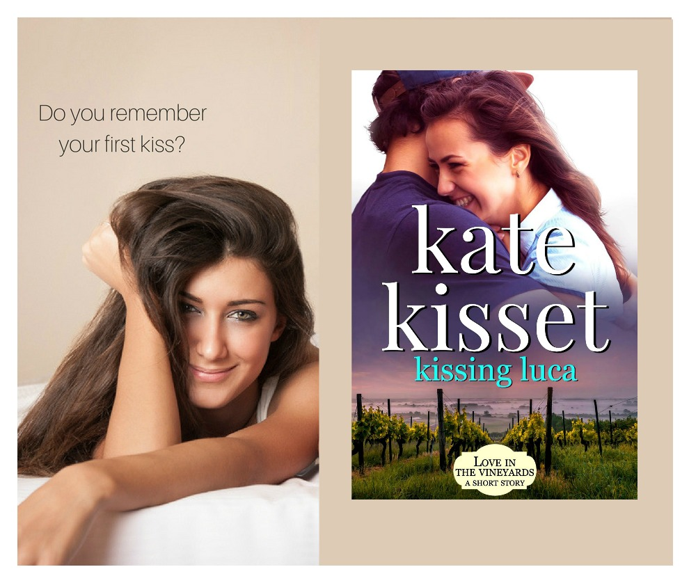 Readers asked for Kissing Luca. Here's the short story of Danica & Luca's first kiss.