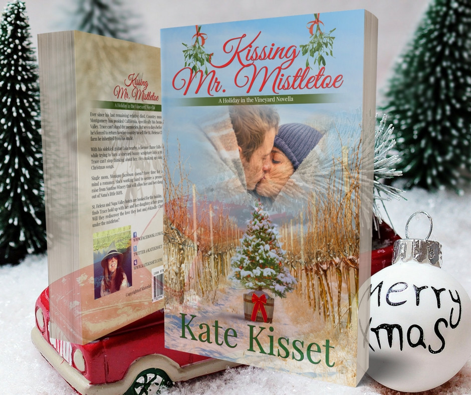 Kate Kisset, Kate Kisset books, Kissing Mr. Mistletoe, excerpt