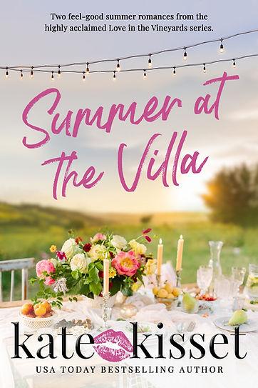 Kate Kisset Summer at the Villa Boxed Set