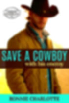 1-(2-name placementr band) Save a Cowboy