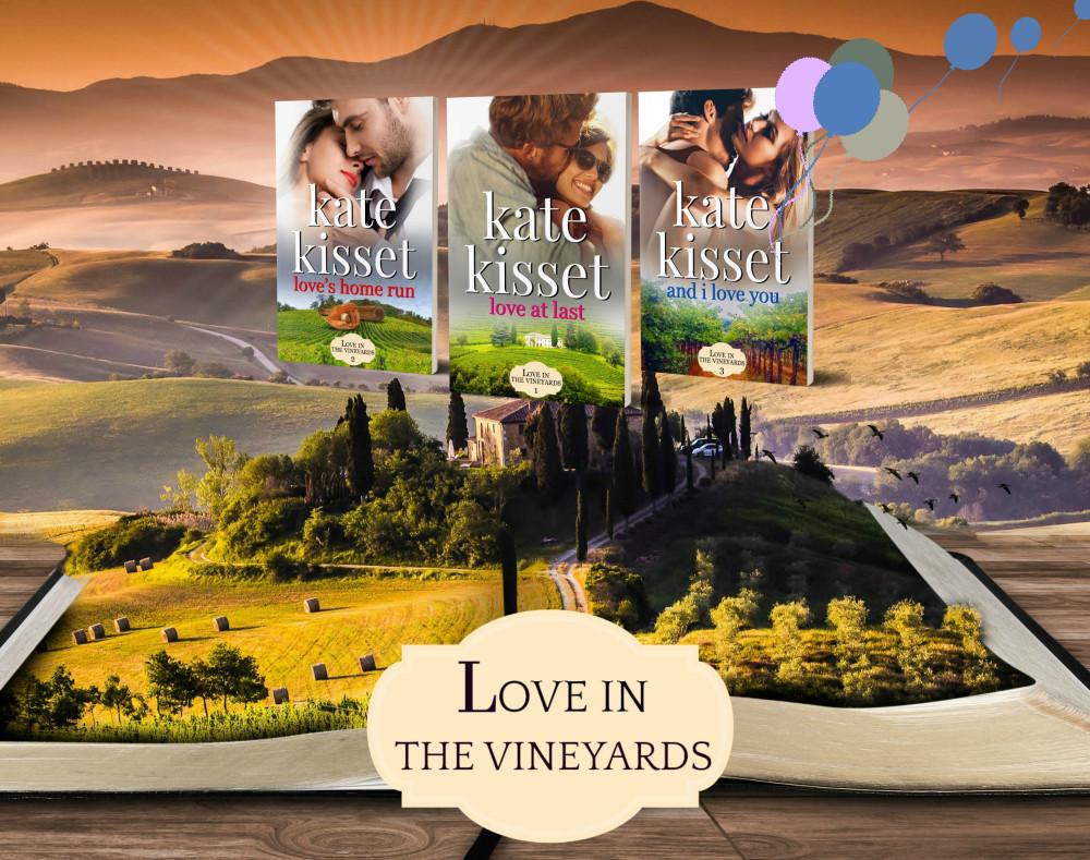 Kate Kisset, Love in the Vineyards series