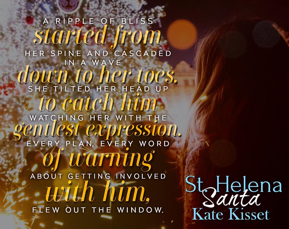 Kate Kisset, Kate Kisset books, St. Helena Santa, Excerpt