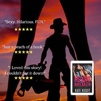 Heartbreaker-Sexy, Hilarious, FUN-Kate K