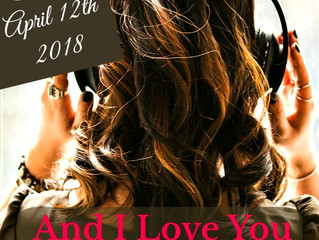 Romance author Kate Kisset releases her third full-length novel. ~AND I LOVE YOU~ hits stores next m