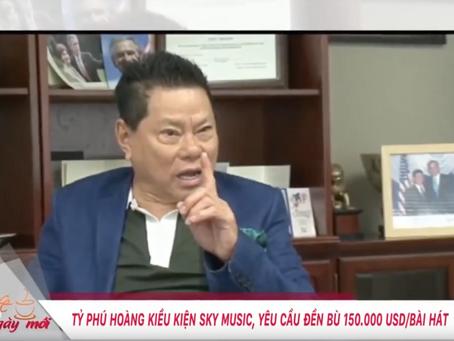 Hoàng Kiều kiện Sky Music đòi bồi thường 35 tỷ đồng | VTC9