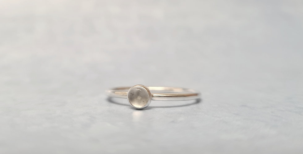 Moonstone ring size R