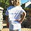 Thumbnail: Be Brooks Brave-Toddler V-neck Shirt (White)