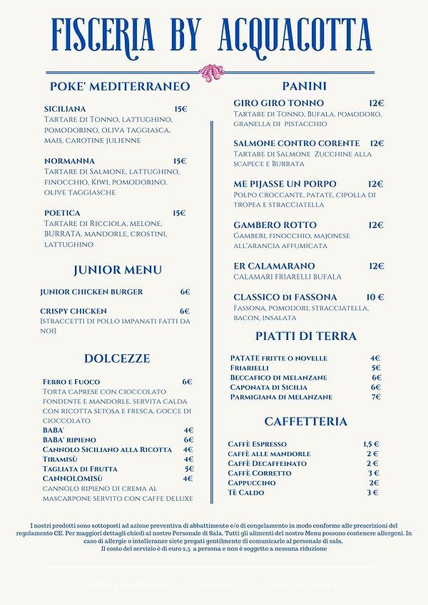 Delivery FISCERIA by ACQUACOTTA pagina 2