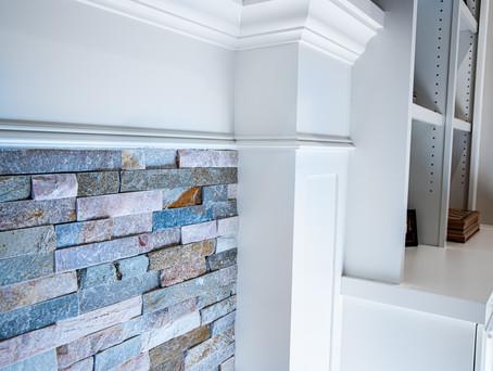 Living Room Masonry & Cabinet Detail