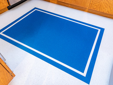 Custom Flooring Inlay