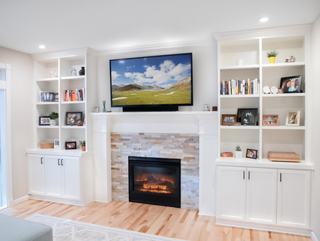 Living Room Built-in Replacement