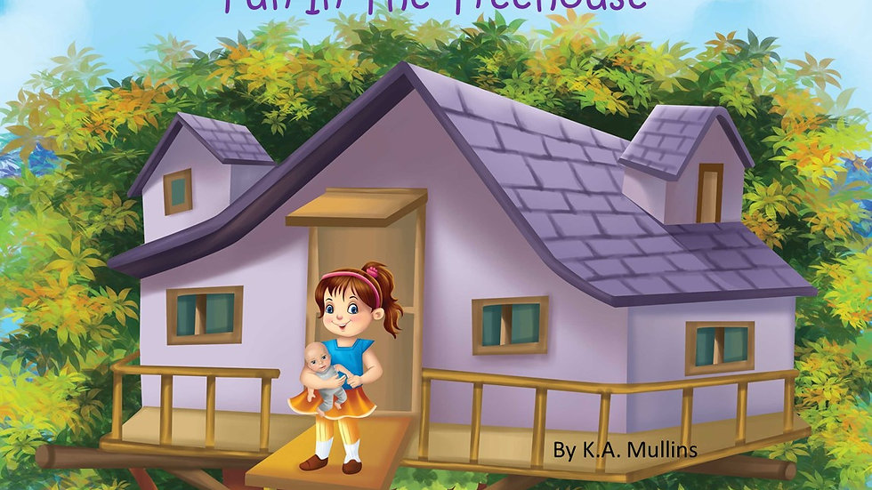 The Adventures Of Didi And Maca: Fun In The Treehouse ( signed)