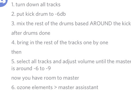 Basically how to mix and master your track