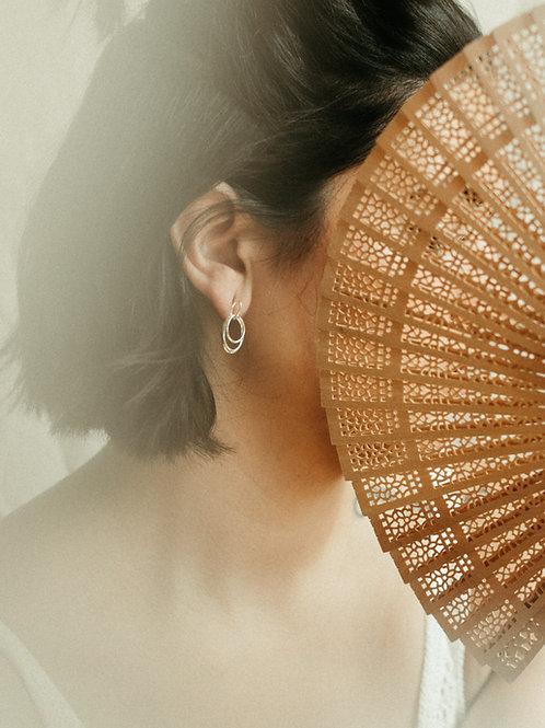 Delicate Interwoven Stem Earrings