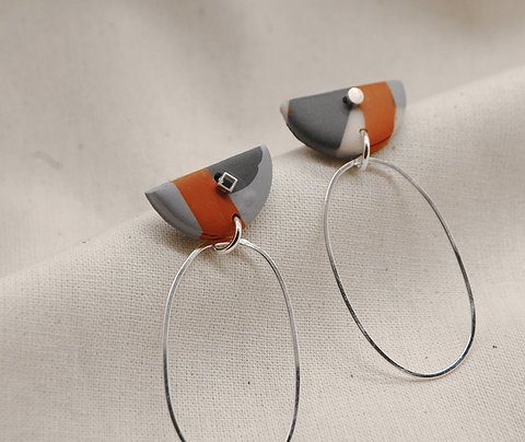 New Workshop, Make your own 2in1 earrings - Sun 5th April 2020