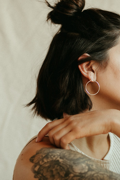 Double Molten Round Hoops
