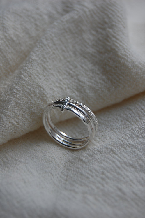 New Workshop, Make your own textured ring - 25th April 2020
