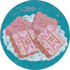Kueh Kacang Hijau · 綠豆糕