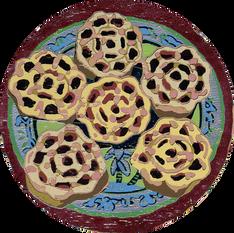 Kueh Rose ·  蜂巢餅