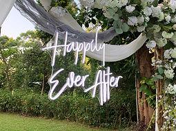 WEDDING NEON