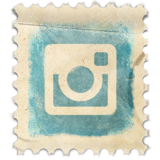 Instagram Vintage Stamp