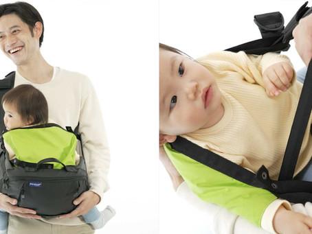 【リリース】スタイリッシュなバッグが抱っこひもに早変わり!これまでにないファザーズバッグ新登場
