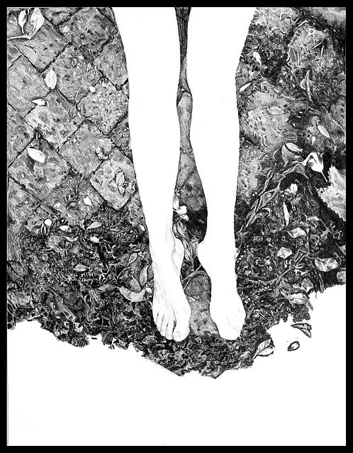 """Framed poster """"Untitled"""""""