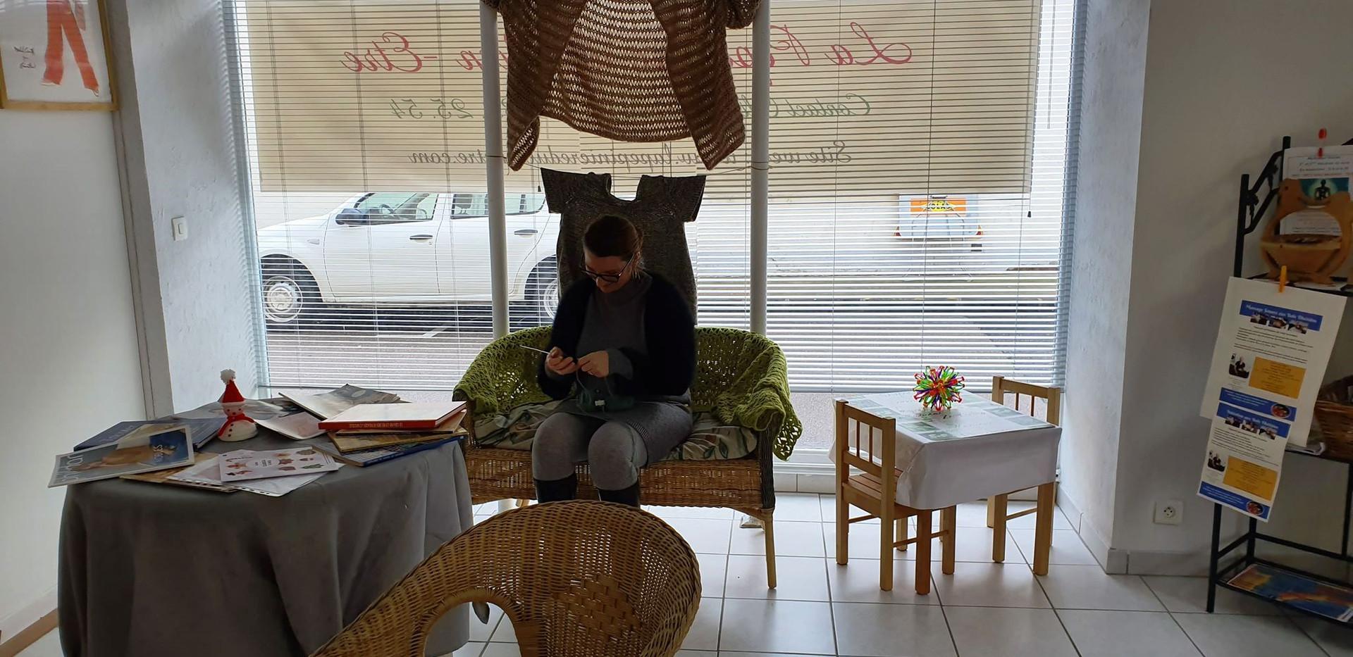 Journée découverte du tricot
