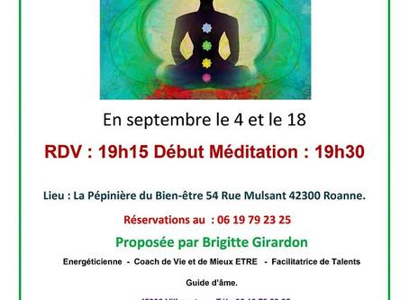 Méditation - 1er et 3ème vendredis de tous les mois