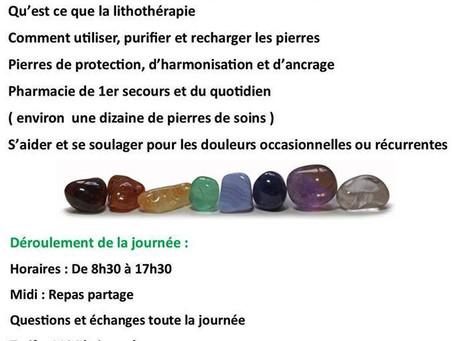 Formation Lithothérapie - Niveau 1