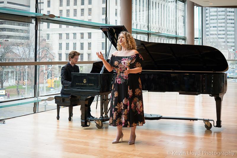 Danika Loren Stephane Mayer COC Free Concert Series