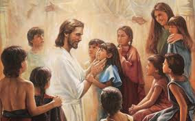Jesus loves the children and heals them.jpg