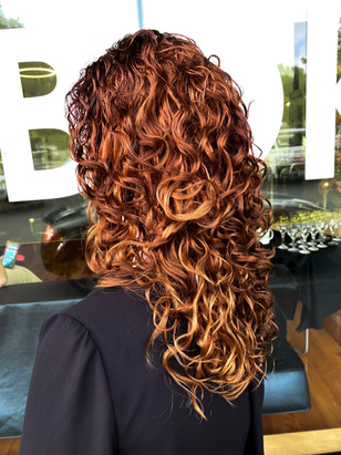 Curly work from Aboki