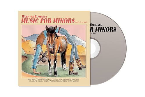 CD - Music for Minors (Ages 3 to 300)
