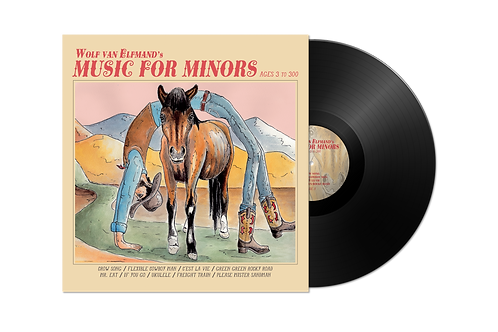 VINYL - Music for Minors (Ages 3 to 300)